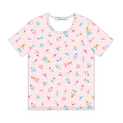 min3000 GRAPHICS オリジナルグッズ:SWEET COOKIES' SHOPPING MEN'S T-SHIRT (デザインTシャツ)